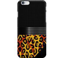 Fancy Florescent Yellow Orange Cheetah  iPhone Case/Skin