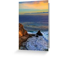 Pelican Cove In Rancho Palos Verdes  Greeting Card