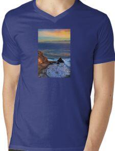 Pelican Cove In Rancho Palos Verdes  Mens V-Neck T-Shirt