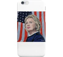 Presidential Candidate Hillary Rodham Clinton iPhone Case/Skin