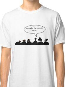 Intruder Alert! Classic T-Shirt
