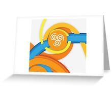 Avatar - Air Greeting Card