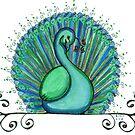 Peacock 6 by Amy-Elyse Neer