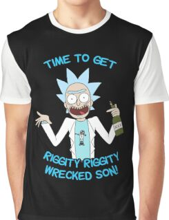 rick and morty, rick, morty, cartoon, funny, wuba, riggity, dab on them folk, cam newton. Graphic T-Shirt