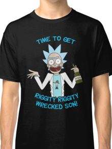 rick and morty, rick, morty, cartoon, funny, wuba, riggity, dab on them folk, cam newton. Classic T-Shirt