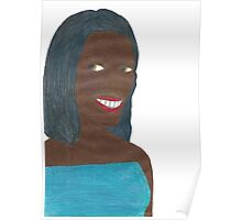 Random Black Girl (Just Image) Poster