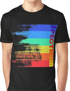 Faded retro pop spectrum colors Graphic T-Shirt
