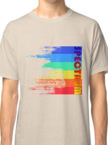 Faded retro pop spectrum colors Classic T-Shirt