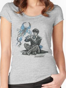 Song for the Butterfly-Jellies Women's Fitted Scoop T-Shirt