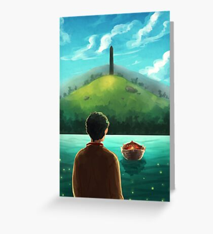 Merlin - Thank you Greeting Card