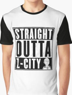 straight outta Z-city Graphic T-Shirt