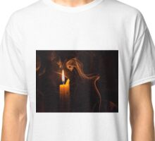 The candle and the smoke Classic T-Shirt