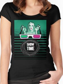 Show time Women's Fitted Scoop T-Shirt