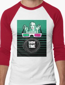Show time Men's Baseball ¾ T-Shirt