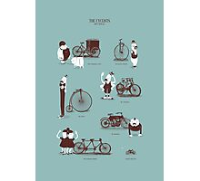 Meet The Cyclists Photographic Print