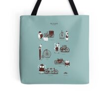 Meet The Cyclists Tote Bag