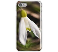 Blooming Snowdrops iPhone Case/Skin