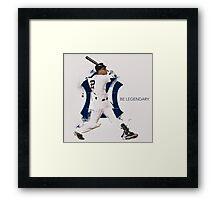 Derek Jeter Be Legendary Framed Print
