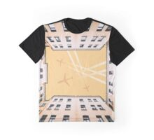 Bottom view to vintage old buildings Graphic T-Shirt