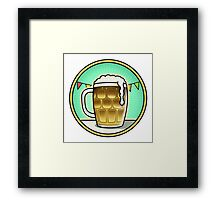 BEER FEST : ENJOY THE BEER Framed Print