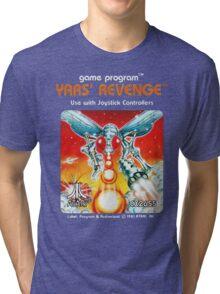 Yars' Revenge Cartridge Artwork Tri-blend T-Shirt