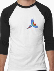 THE ORIGINAL PARROT by Creachel Men's Baseball ¾ T-Shirt
