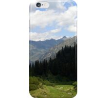 Mountains and Forrest iPhone Case/Skin