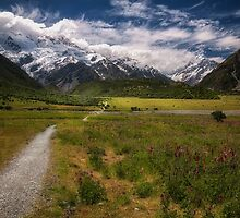Mount Cook National Park 3 by Tim Clark