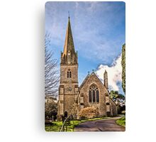 St.Michael and all angels Canvas Print