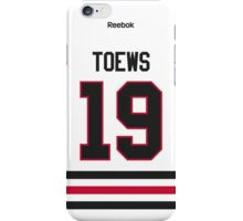 Chicago Blackhawks Jonathan Toews Away Jersey Back Phone Case iPhone Case/Skin