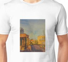 Streetscape Lancefield (watercolour) Victoria Australia Unisex T-Shirt