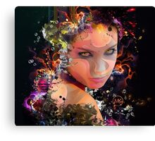Look in Colour Canvas Print