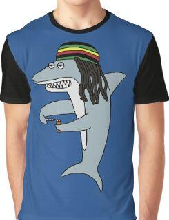 Reggae Shark Graphic T-Shirt