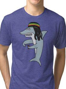 Reggae Shark Tri-blend T-Shirt