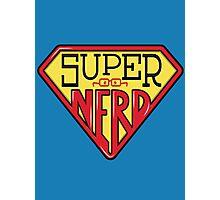 Super Nerd Man Photographic Print