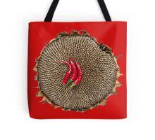 Chili & sunflower Tote Bag