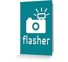 Flasher Greeting Card