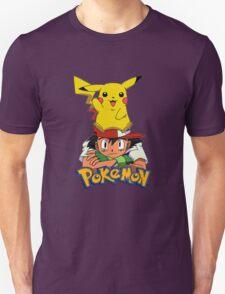 Ash with Pikachu - pokemon T-Shirt