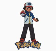 Ash take pokeball - pokemon Kids Clothes