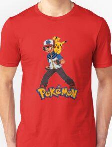 Ash with Pikachu 002 - pokemon T-Shirt