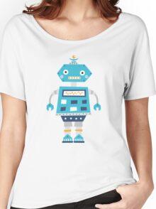 Retro robot Women's Relaxed Fit T-Shirt