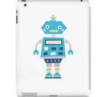Retro robot iPad Case/Skin