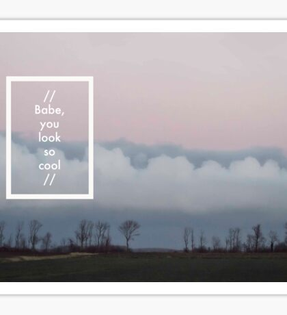 The 1975 - Robbers Sticker