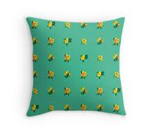 Flower No.17 Throw Pillow