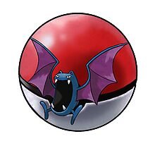Golbat pokeball - pokemon Photographic Print