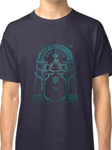 lord of the rings, doors of durin Classic T-Shirt
