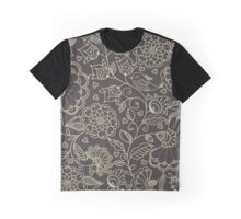 floral pattern in doodle style Graphic T-Shirt