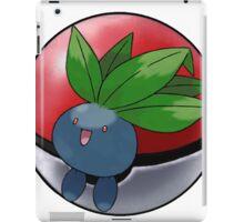Oddish pokeball - pokemon iPad Case/Skin