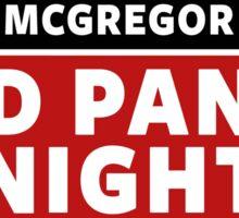 Conor Mcgregor, Red Panty Night Sticker