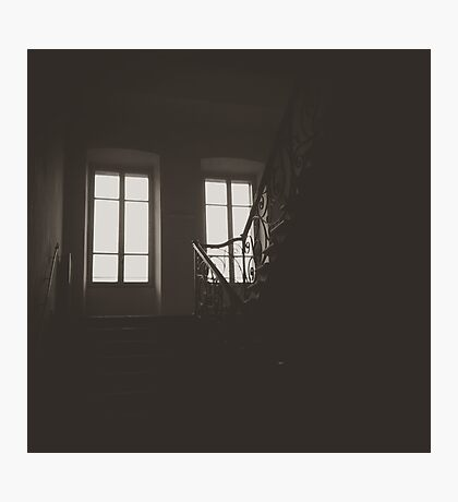Ominous Stairwell Photographic Print